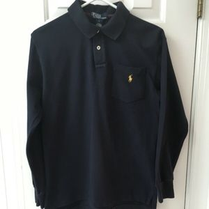 Polo Ralph Lauren Boys Long Sleeve Polo Shirt L